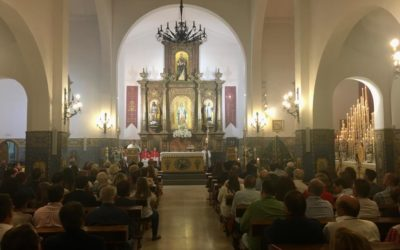 Misa de Coronación y bendición de un nuevo manto de vistas para Nuestra Señora de la Salud